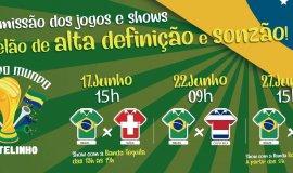 Castelinho terá transmissão dos jogos do Brasil na Copa do Mundo