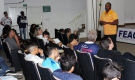 ASPA recebe medalhista olímpico Édson Luciano