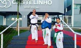 Lutadores de Taekwondo do Castelinho são destaque na Copa América